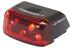 SIGMA SPORT Cuberider II - Luz a pilas traseras - negro